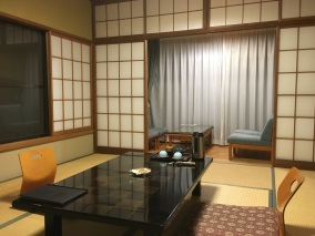 Our room in the ryokan.